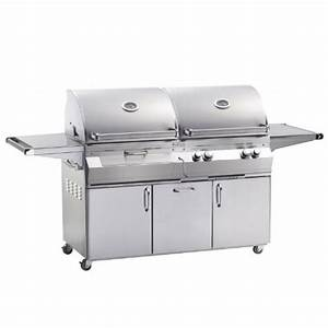 Kohle Gasgrill Kombination : gas charcoal combo grill ~ Frokenaadalensverden.com Haus und Dekorationen