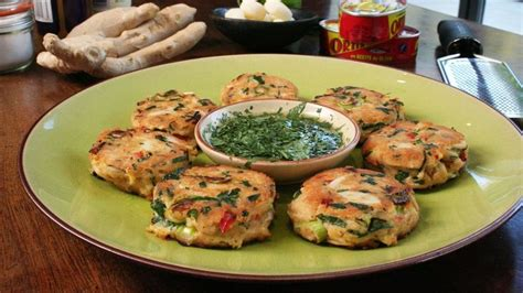 Grilling pineapple brings out its natural sugars and the spiced vanilla caramel adds an extra elegance. Spicy Tuna Fish Cakes   Asian Food Channel   Tuna fish cakes, Fish cakes recipe, Spicy tuna