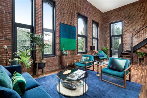 Maximalist New York Lofts That Will Take Your Breath Away by 18 Irresistible Industrial Living Room Designs That Will
