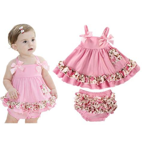 2018 Summer Baby Clothing Newborn Baby Girl Clothes Dress Infant Sling Bat Roupas Body Bebes ...