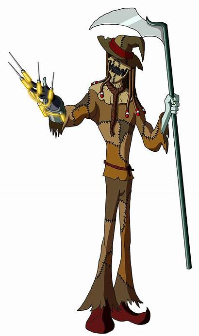 Scarecrow Batman Moheart7 Deviantart Anime Deviant