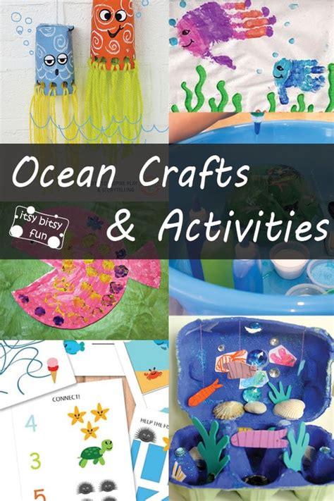 ocean animals crafts  activities  kids