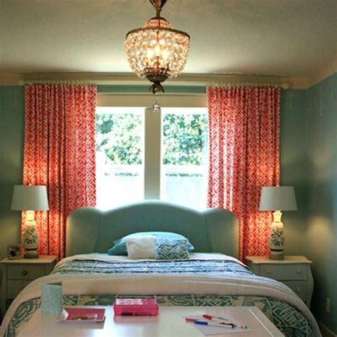 teal  coral love  curtains  bedroom  teal pinterest fabrics