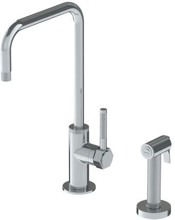 watermark kitchen faucets watermark 111 7 4 sutton kitchen faucet with handspray