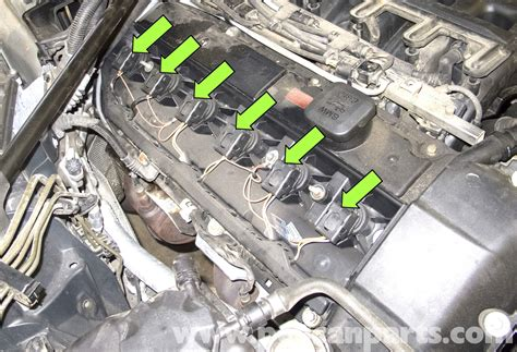 2006 Bmw 5 Series Engine Diagram by Bmw E60 5 Series Spark And Ignition Coil Replacement
