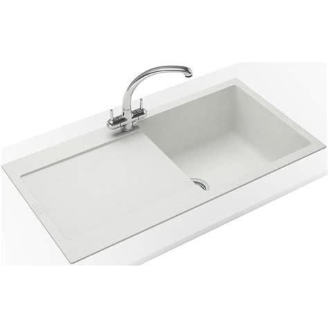 Franke Maris Propack Mrg 611 Fragranite Polar White Sink