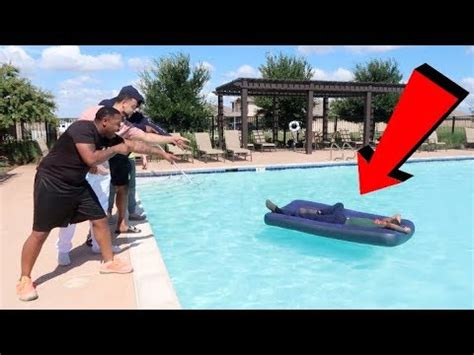 Roommate Wakes Up In Swimming Pool Prank! Youtube