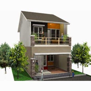contoh model rumah lantai tingkat  minimalis modern