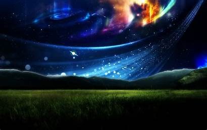 Surreal Wallpapers Backgrounds Cgi Viking Sky Desktop