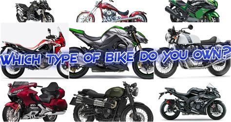 A Simple Guide To Different Types Of Motorcycles