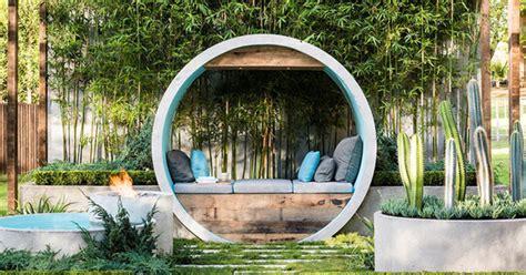 pipe dream hidden oasis garden  concreate pipes home design  interior