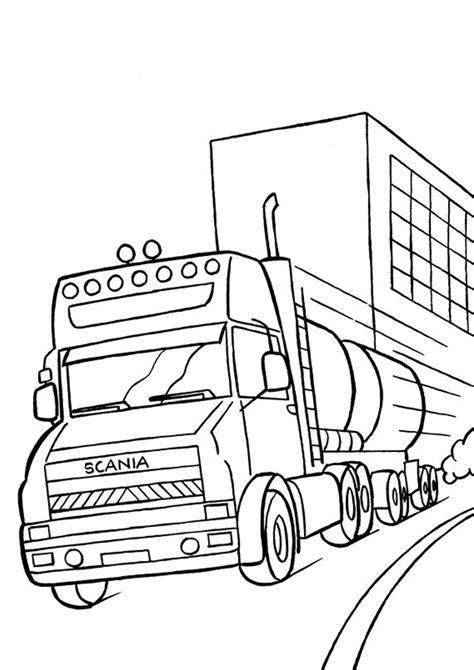 disegni da colorare camion dei pompieri 51 disegni di camion da colorare pianetabambini it