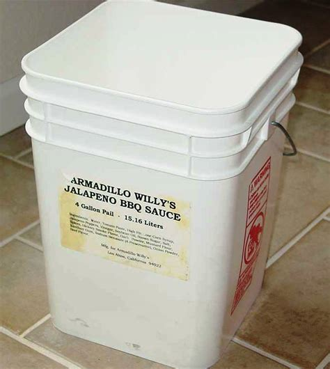 metal pail square buckets five gallon ideas