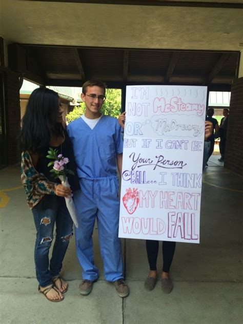 greys anatomy prom proposal prom  prom proposal