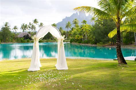 Bora Bora Destination Wedding The St Regis Bora Bora Resort