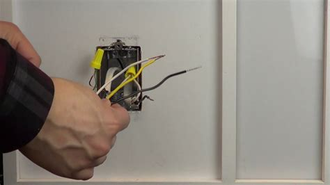 Wiring Control With Black Wires One Yellow Wire
