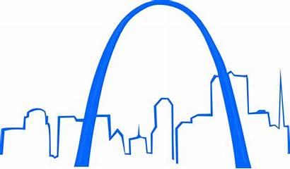Louis St Clip Domain Clipart Skyline Clker