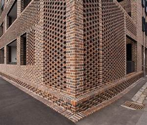 Brick parapet perforated google search design