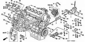 Engine Mounting Bracket For 2005 Honda Civic Eu7