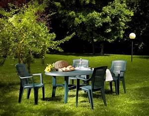 Table De Jardin Ovale : table ovale danubio salon de jardin plein air ~ Teatrodelosmanantiales.com Idées de Décoration