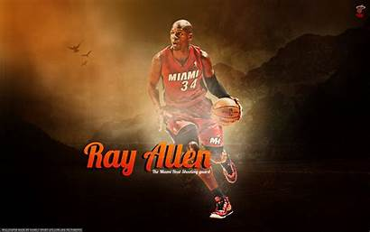 Allen Ray Heat Miami Wallpapers Background Basketball