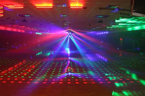 content roller rink produces light magic