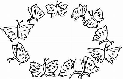 Butterfly Coloring Pages Printable Butterflies Sheet Cool