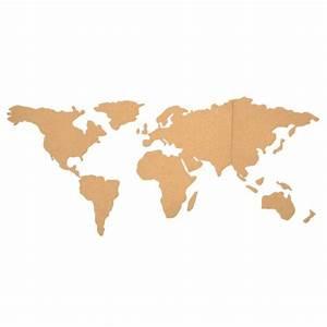 Carte Du Monde En Liège : carte du monde liege accessoires de bureau ~ Melissatoandfro.com Idées de Décoration