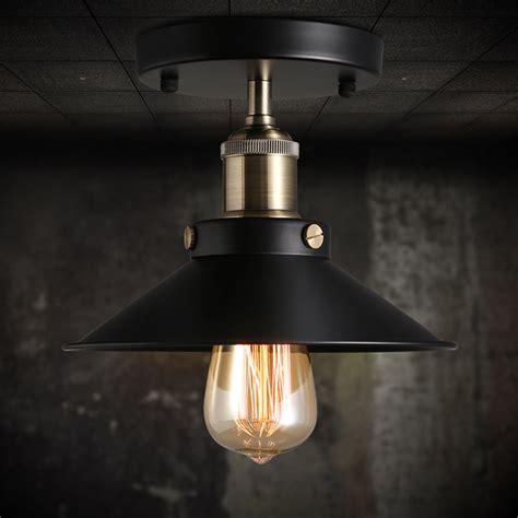 chandeliers and lighting fixtures vintage black ceiling mount light chandelier edison l