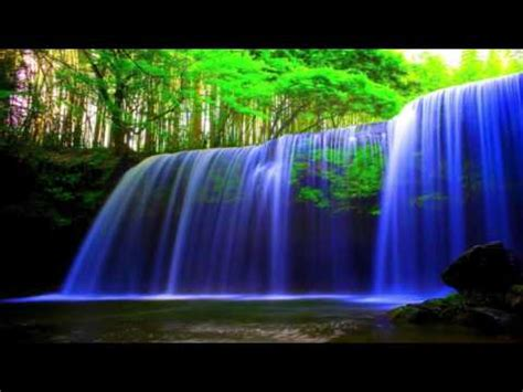 hours peaceful waterfall relaxation sleep aid youtube