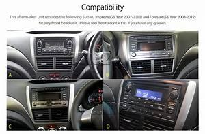 1996 Subaru Impreza Stereo Wiring