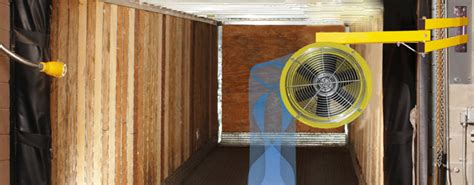 door fans to keep bugs out loading dock fans