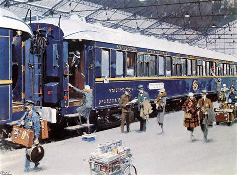 The Simplon Orient Express In France Photographed By Jack