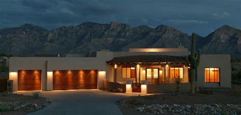 santa fe style home oro valley az lot  contemporary