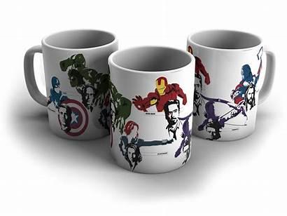 Caneca Avengers Vingadores Os Elo7 Capitao Homem