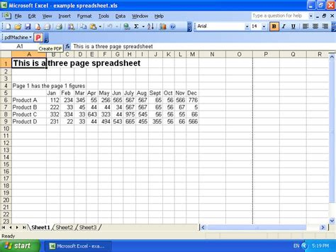 pdfmachine xls to pdf