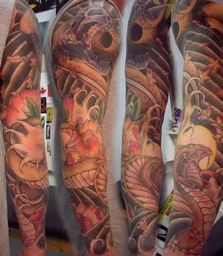snake tattoos  arms