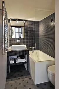 Salle De Bain Petite Surface : ide couleur salle de bain idee couleur peinture chambre ~ Dailycaller-alerts.com Idées de Décoration