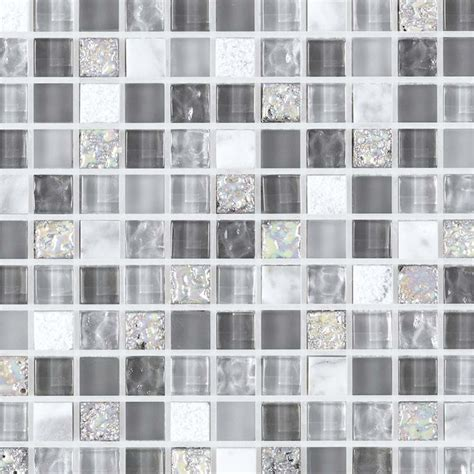 deco cuisine grise et mosaïque et verre glacier grise indoor by