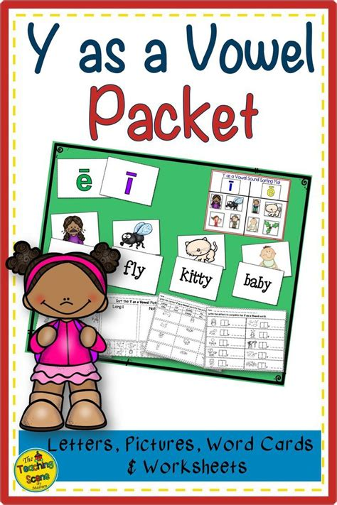 vowel packet letters pictures words