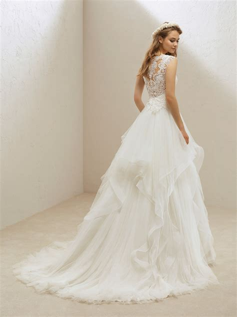 piece wedding dresses separates collection pronovias