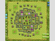 Base Ampuh Buat War di Game Clash of Clans Town Hall 8