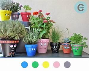 Ouvrir Un Pot De Peinture : pot de fleur diy d co d coration decoration tuto tutoriel barbapapa flowerpot ~ Medecine-chirurgie-esthetiques.com Avis de Voitures