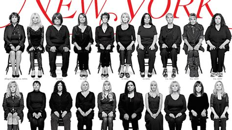 cosby accusers    photographed   york