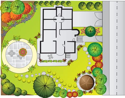 landscape design pictures front of house plan design outdoor home and garden