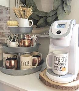 12, Creative, Coffee, Bar, Ideas, For, The, Kitchen, Counter, U2013, Home, Coffee, Bar, Ideas
