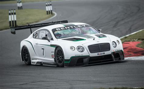 Bentley Makes Motorsport Return