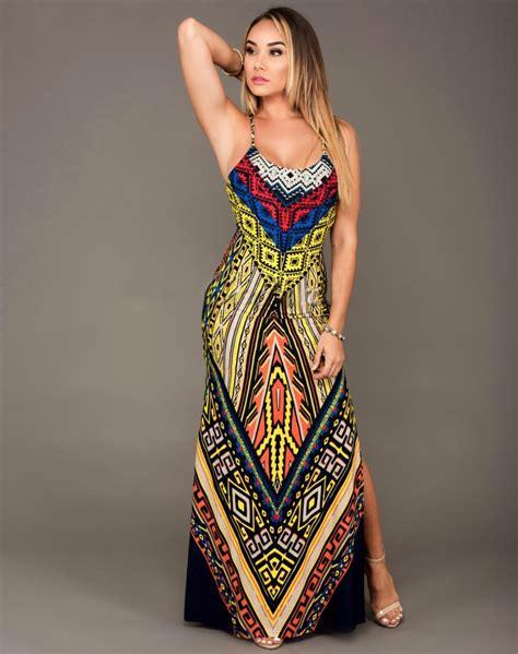 Tribal Maxy Dress summer 2016 dashiki dresses for bazin riche