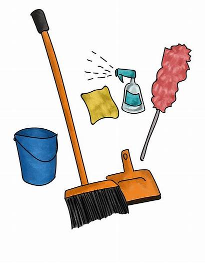 Clipart Housekeeping Wash Supply Webstockreview Cleaning Games