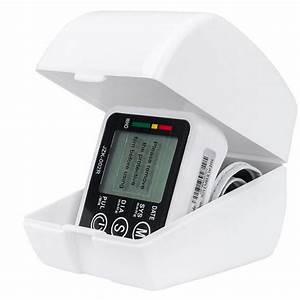 Portable Automatic Wrist Blood Pressure Monitor With Voice